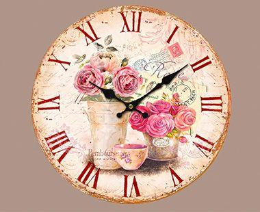 Reloj de Pared Oden Rosas