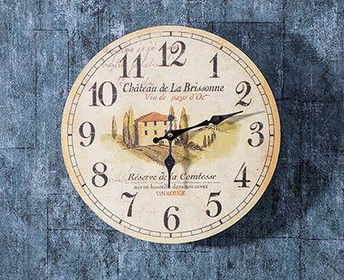 Reloj de Pared Oden Maceta Lavanda