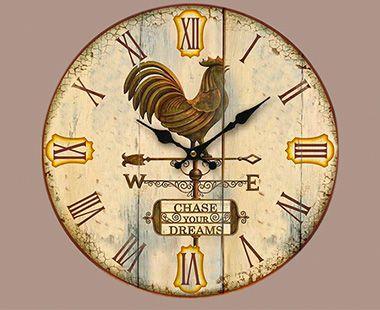 Reloj de Pared Oden Veleta de Viento