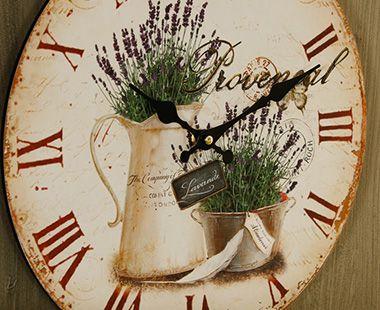 Reloj de Pared Lavanda