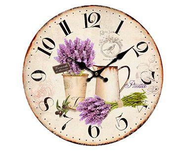 Reloj de Pared Oden Vintage Lavanda