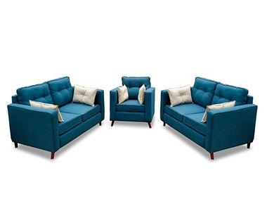 Sala Roxette Azul Tercipelo
