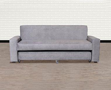 Sofá Cama Confort Clean Gris Humo