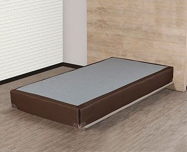 Box Spring Air Individual Brown