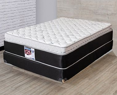 Colchón y Box Spring Air King Size Bremen