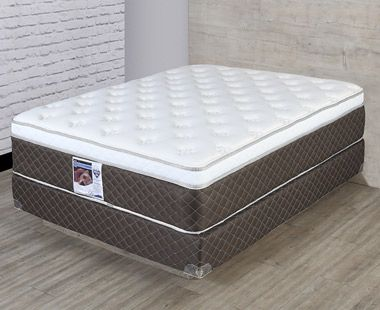 Colchón y Box Spring Air Queen Size Divo