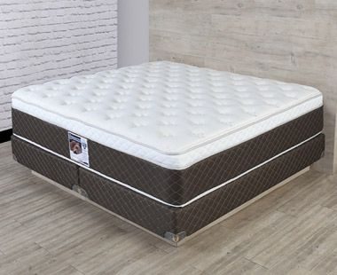 Colchón y Box Spring Air King Size Divo