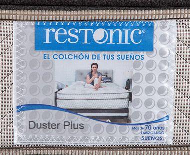 Colchón Restonic King Size Duster Plus Dico