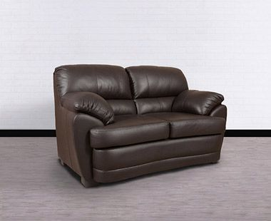 Love Seat Dakota Plus Dark Brown