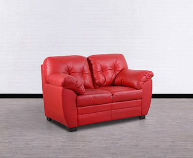 Love Seat Vancouver Rojo