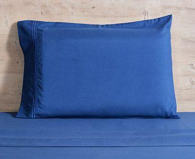 Juego de Sábanas 1800 Hilos Individual Premium Azul