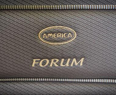 Colchón y Box America Queen Size Forum Dico