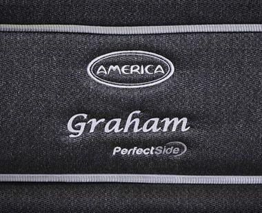 Colchón y Box América Queen Size Graham Dico