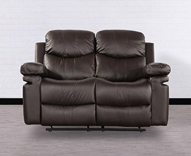 Love Seat Baden Dark Brown