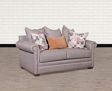 Love Seat Durham New Michelle Gris