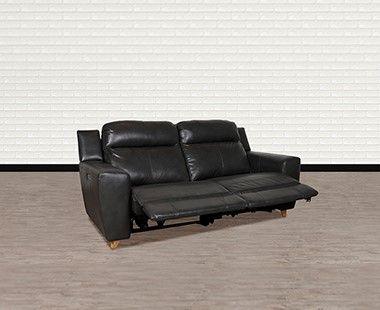 Sofá con Reclinable Eléctrico Cedric Gris
