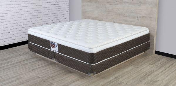 Colchón y Box Spring Air King Size Divo