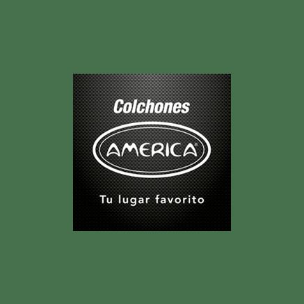 colchones america logotipo