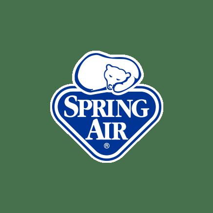 colchones spring air logotipo